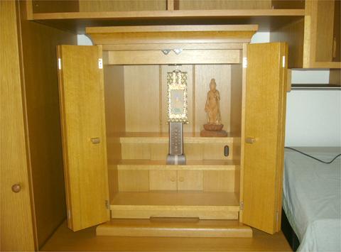 コンパクトな仏壇